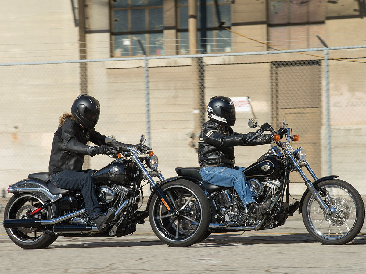HARLEY-DAVIDSON SOFTAILS | Motorcyclist