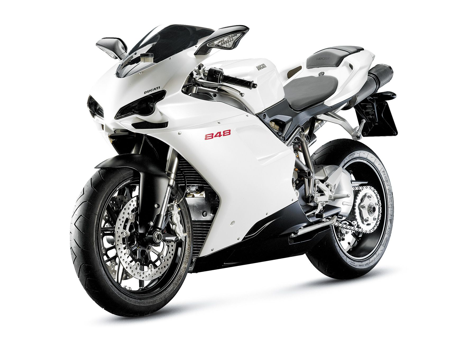 Buell 1125R vs  Ducati 848 Sportbike Motorcycle Review