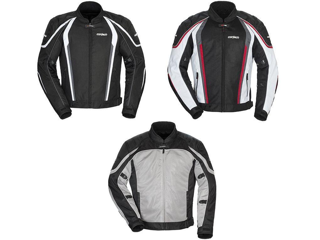 Black//HI-VIS Large Cortech GX SPORT Mens Mesh 4.0 Racing and Motorcycle Jacket
