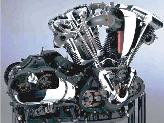 Motorcycle V-twin Engine Technical Issues   Motorcycle Cruiser