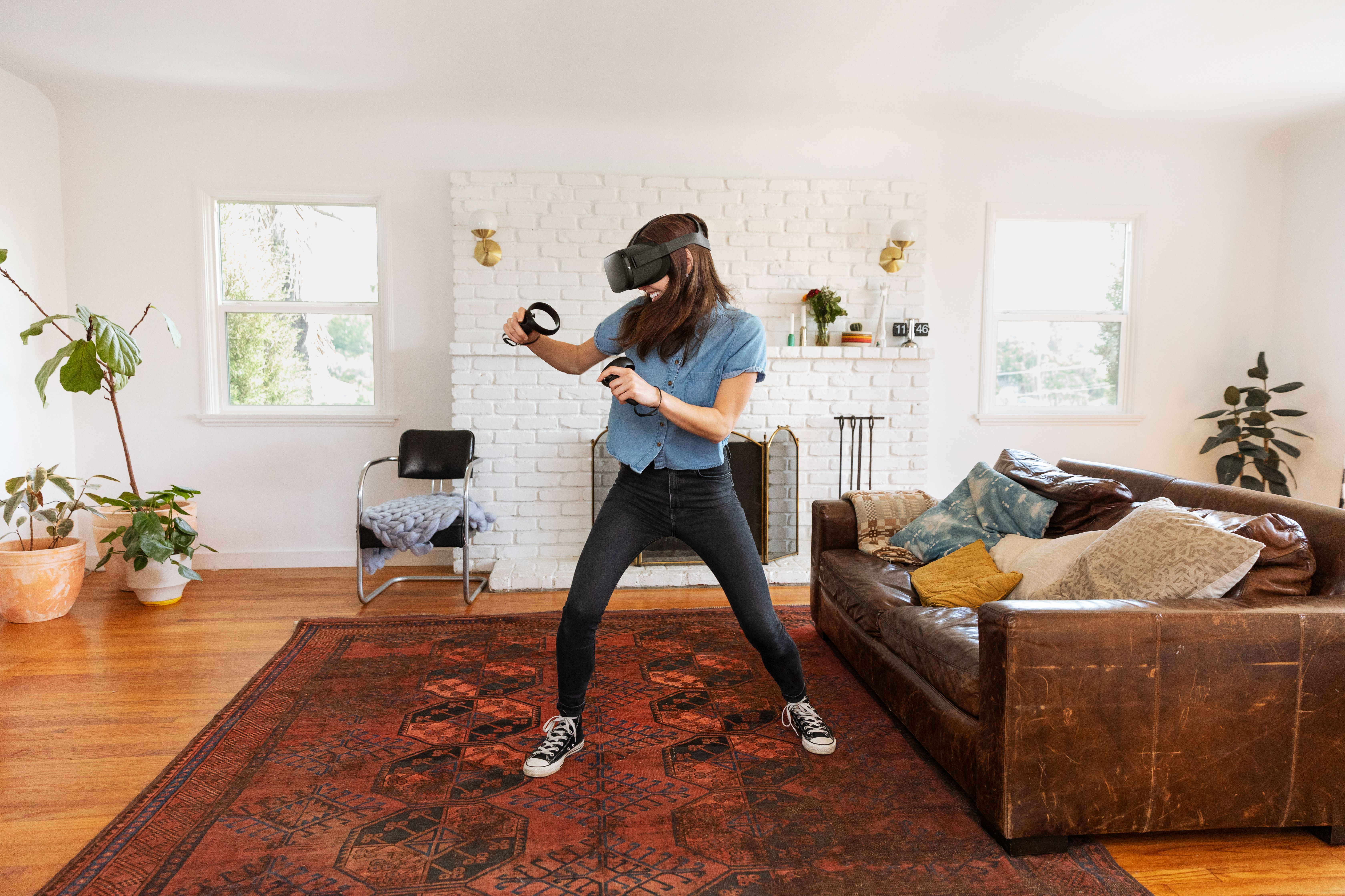 Oculus Quest brings your real-world motion into VR  Here's what