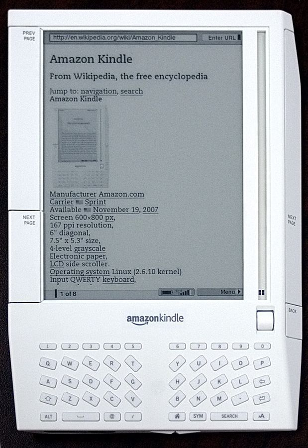 See How Amazon's Kindle Evolved Over Time | Popular Science