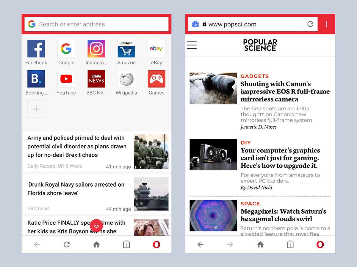 Ditch your phone's built-in web browser for these seven alternatives