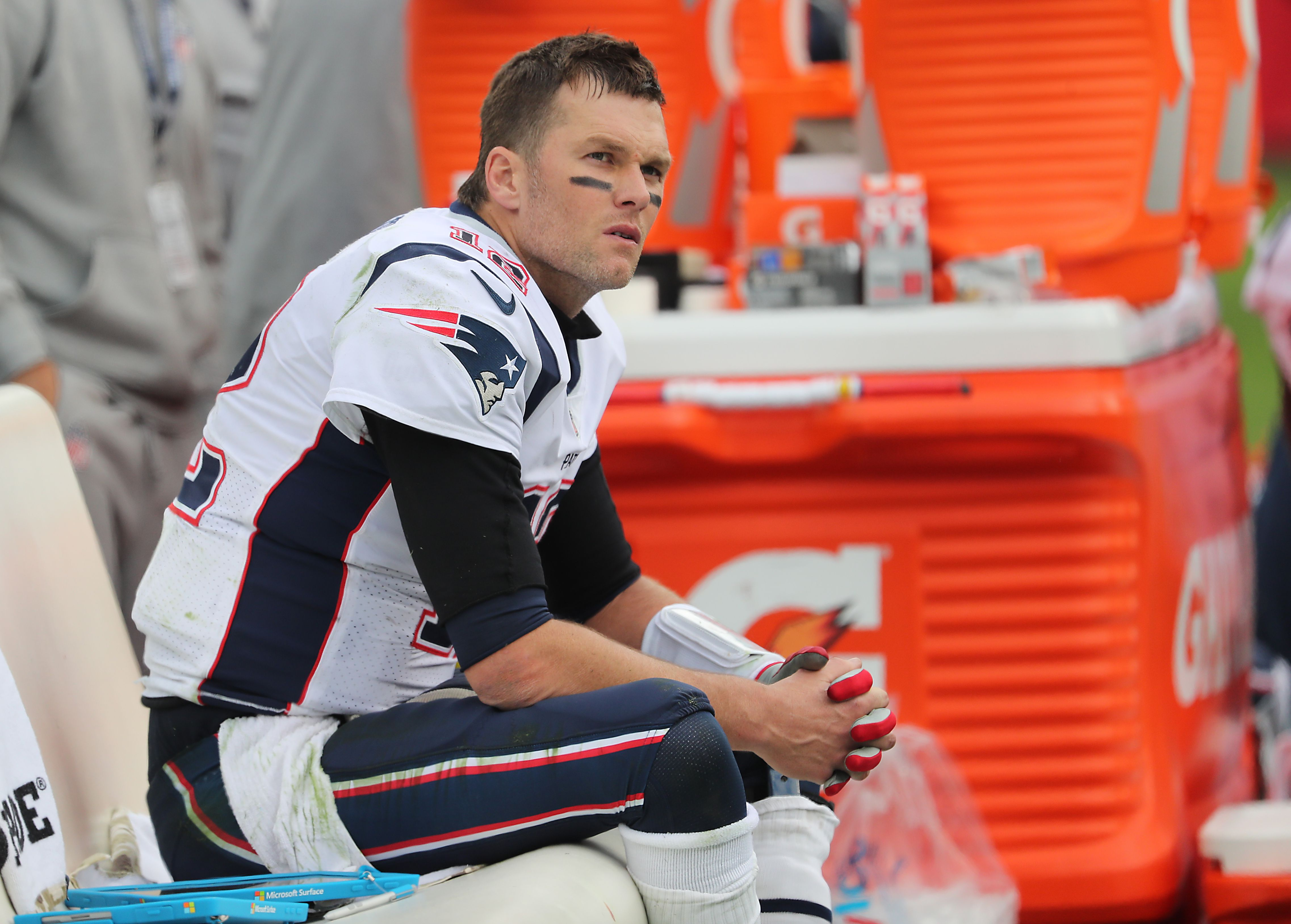 Could Tom Brady finally be showing signs of his age? - The Boston Globe