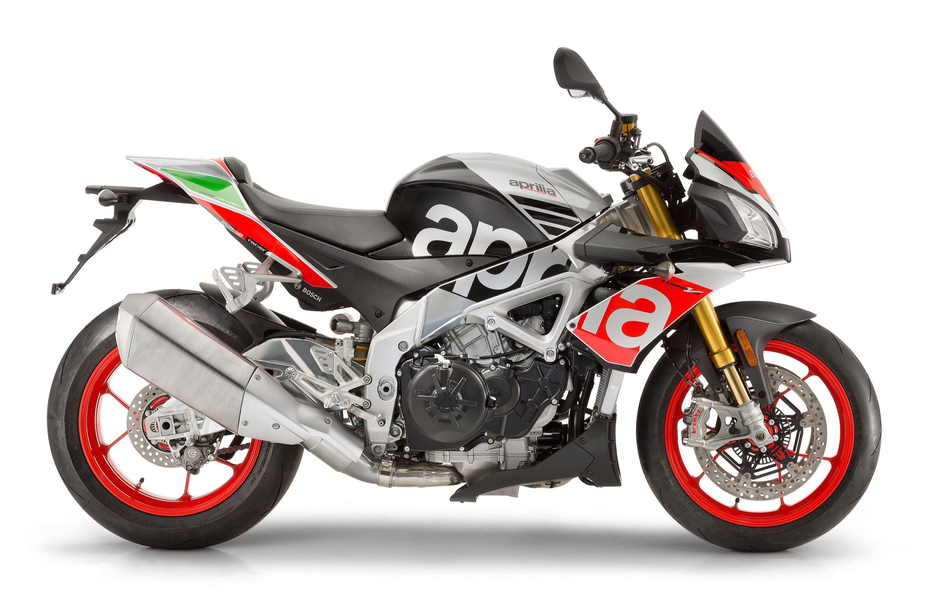 The 2017 Aprilia Tuono V4 1100 Rr And V4 1100 Factory Get Updated Electronics And More Cycle World