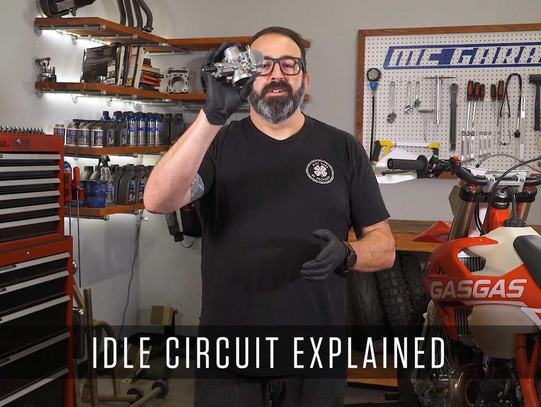 Inside A Motorcycle Carburetor - Idle Circuit | Motorcyclist