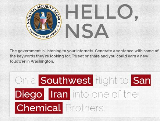 Overwhelm The NSA With Vice's New Spam Generator | Popular
