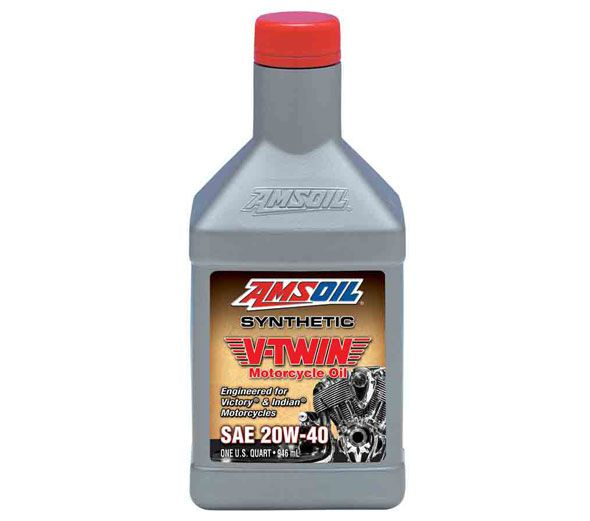 Amsoil Introduces New 20W-40 Synthetic V-Twin Motorcycle Oil for