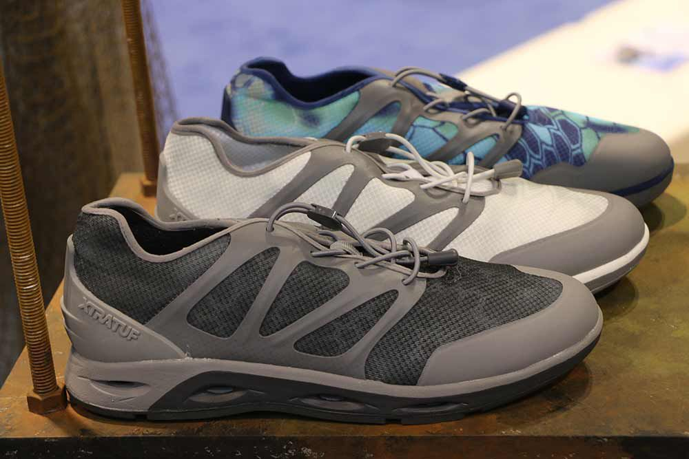 a3b57e6a1e3 New Fishing Footwear: Boat Shoes and Boots at ICAST 2017 | Sport Fishing  Magazine