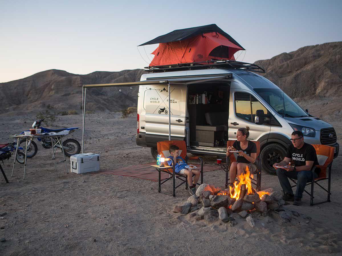 Van Life: Building The Ultimate Motorcycle Adventure Hauler