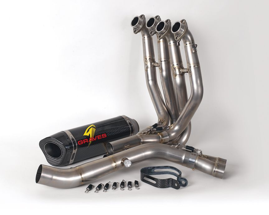 Graves ZX10R Ti Race System Full Exhaust System | Cycle World