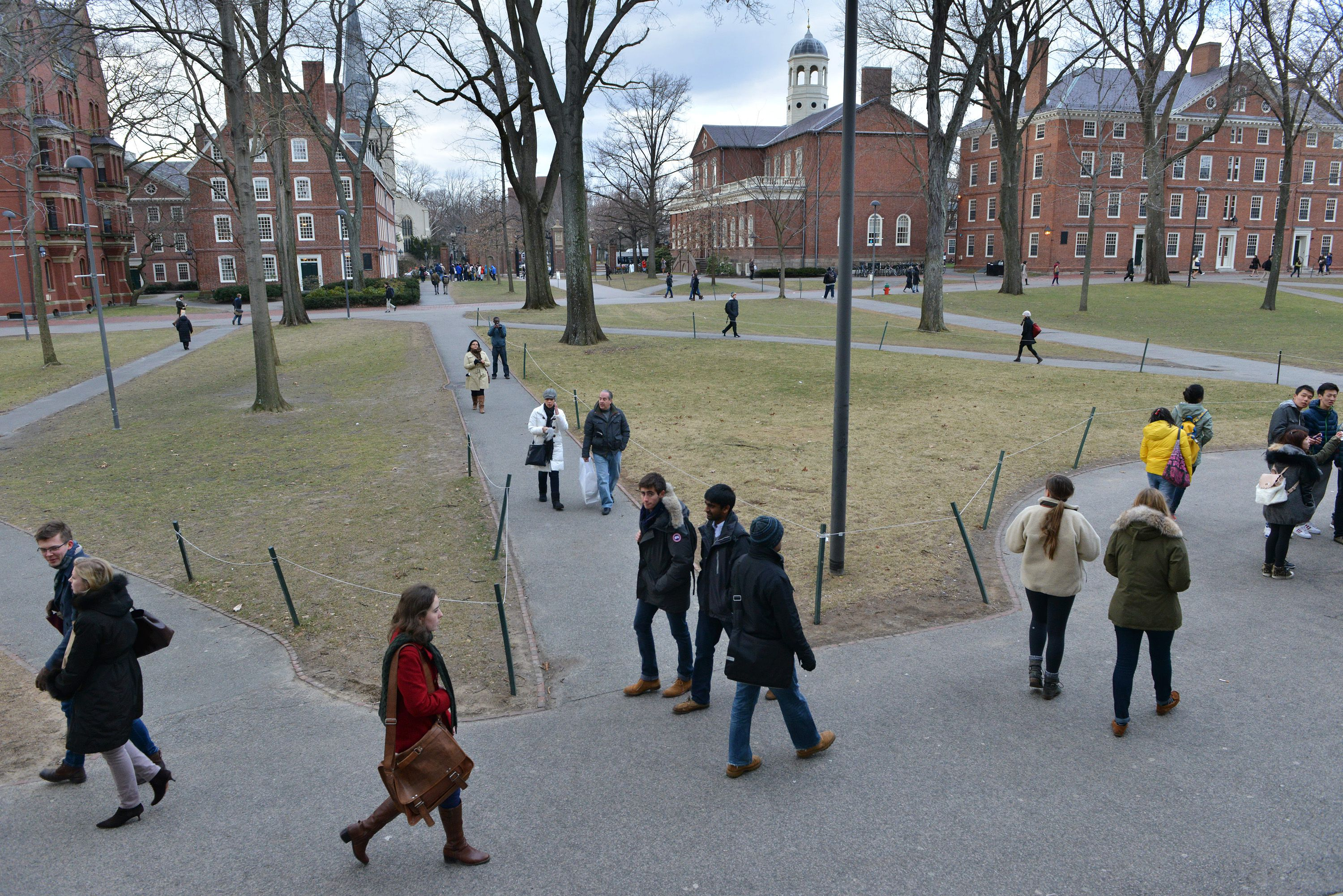 For Harvard College, the acceptance rate dips below 5