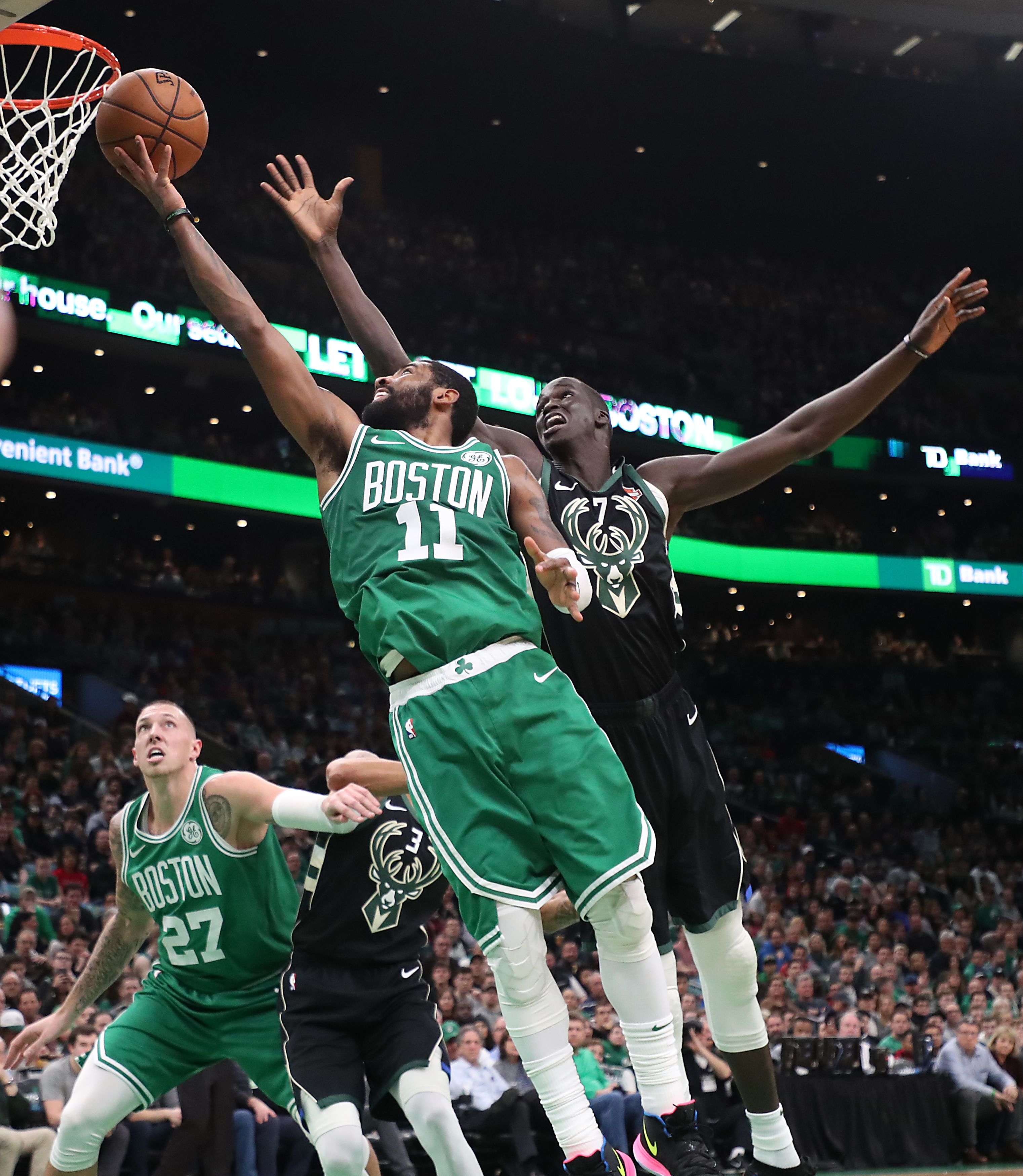 """93de133279b5 How do the Celtics halt their 3-game slide  Kyrie Irving  """"The biggest  thing is patience and just being honest with one another."""""""