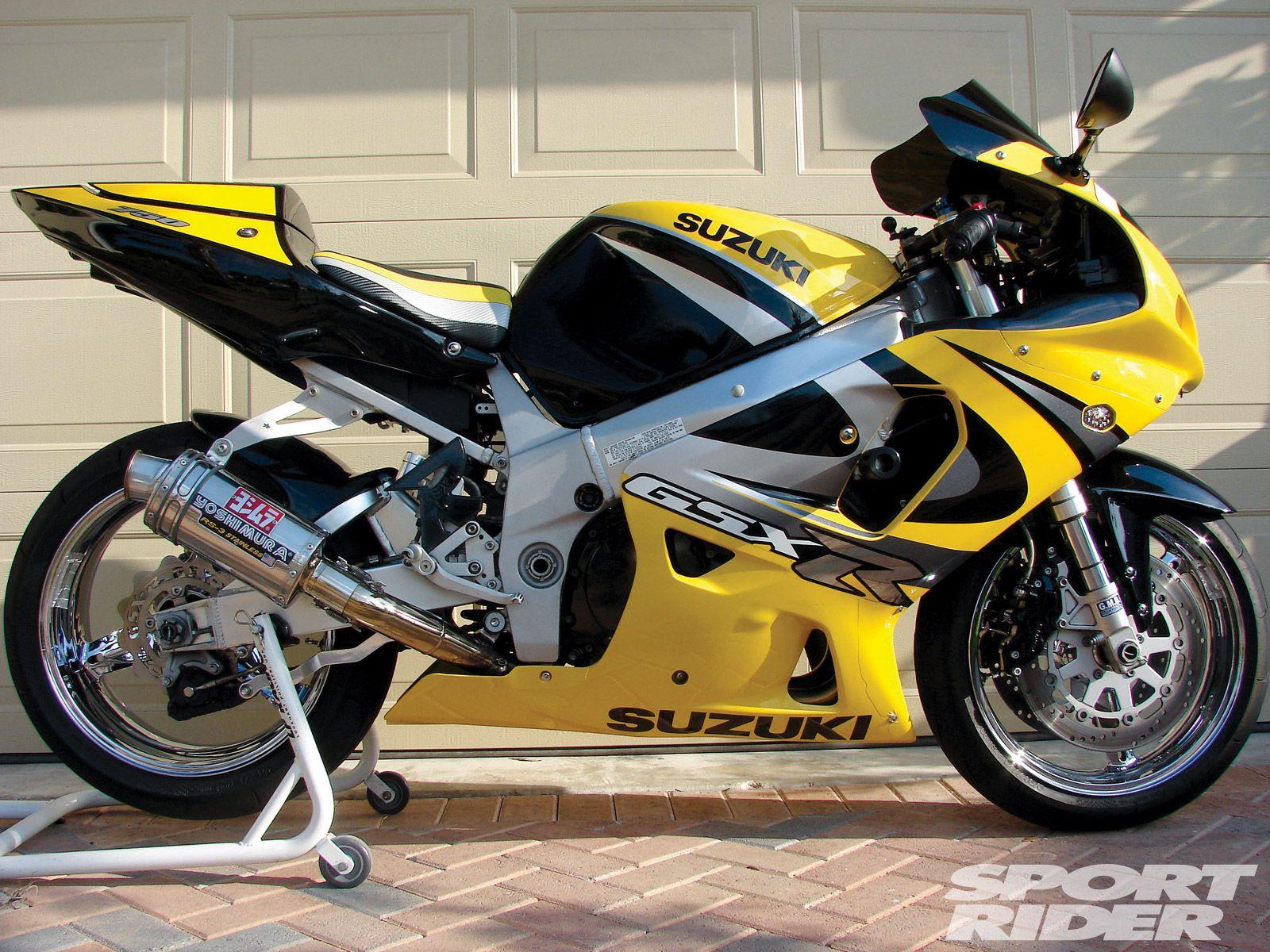 1996-2000 Suzuki GSX-R750 - Great Sportbikes of the Past