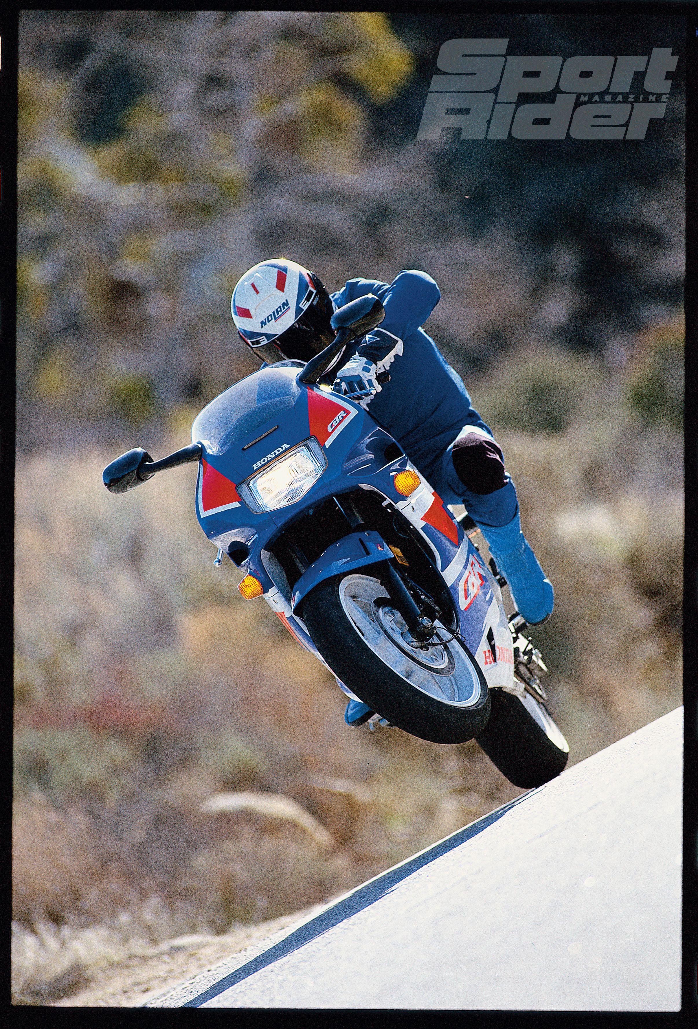 Great Sportbikes of the Past: 1991-1998 Honda CBR600F2-F3