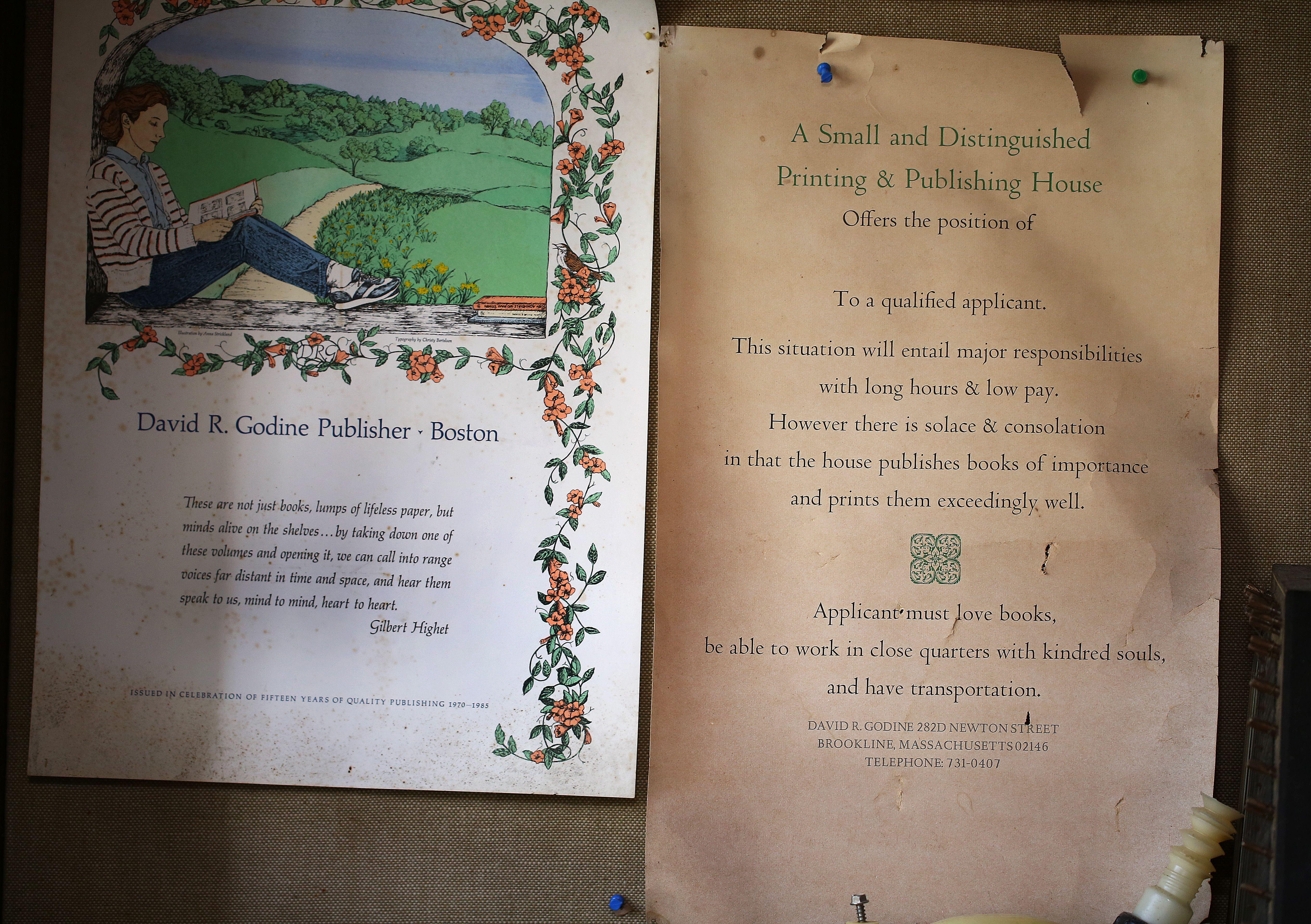Beyond sales, Boston publisher's devotion speaks volumes