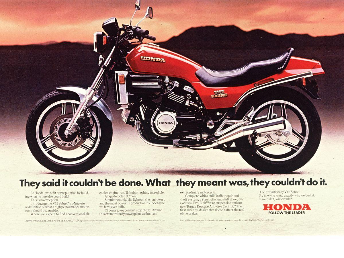Roots: Honda V45 Interceptor   Motorcyclist