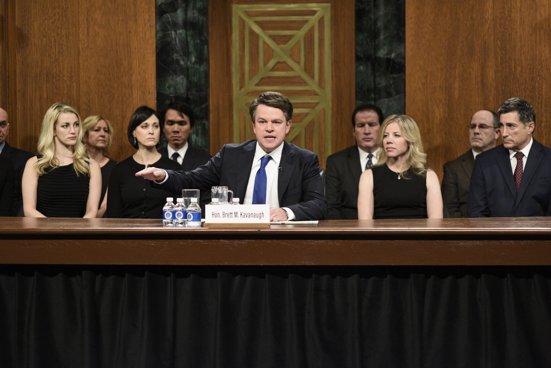Matt Damon Snl Christmas.A Look At Saturday Night Live S Top 10 Sketches Of 2018