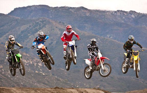 250cc Four-Stroke Motocross Lites Class of 2010- Dirtbike Comparison