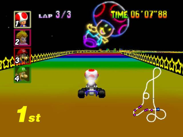 Crunching The Numbers On Mario Kart 64 Popular Science