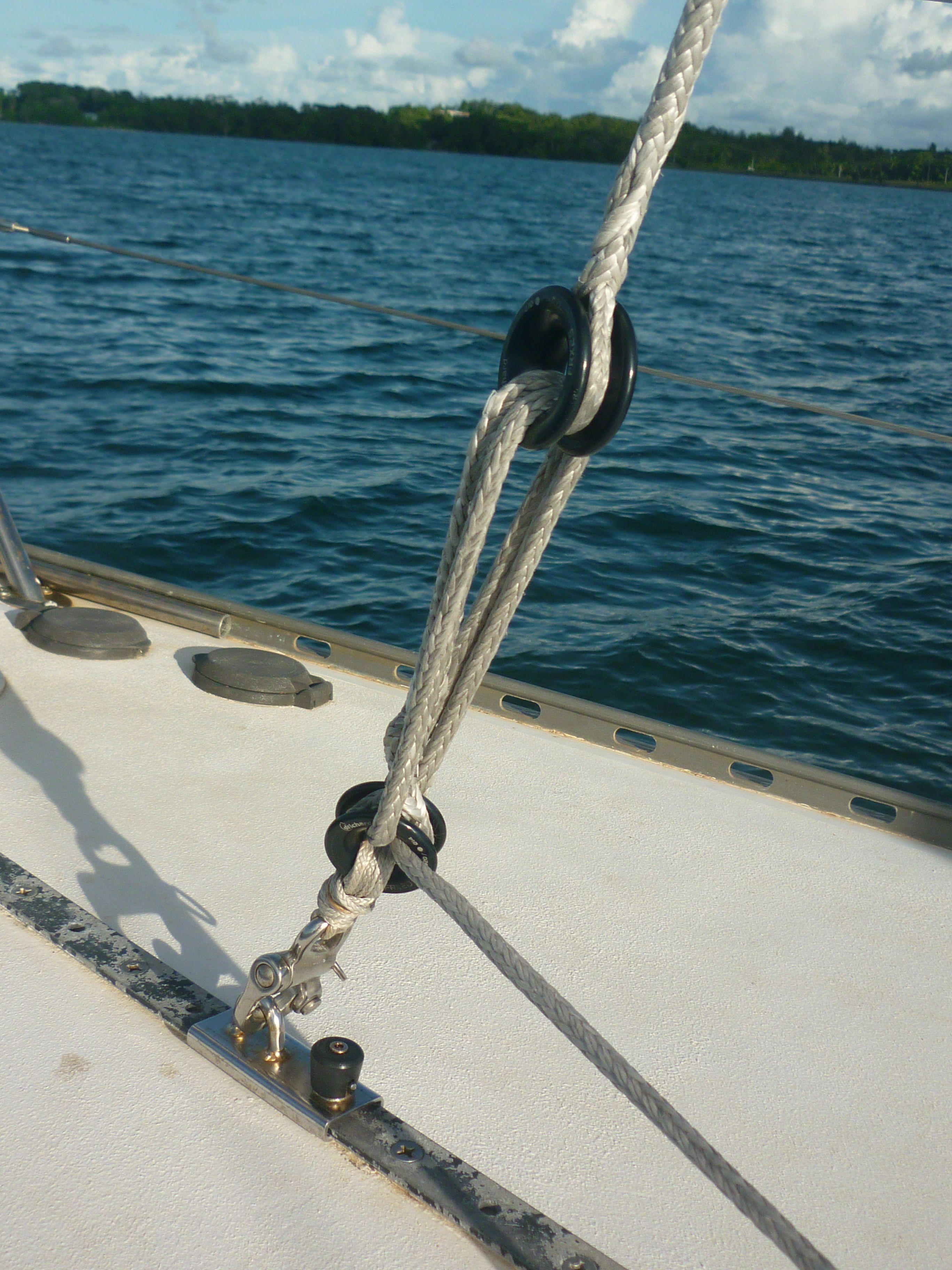 Splicing Stays   Cruising World
