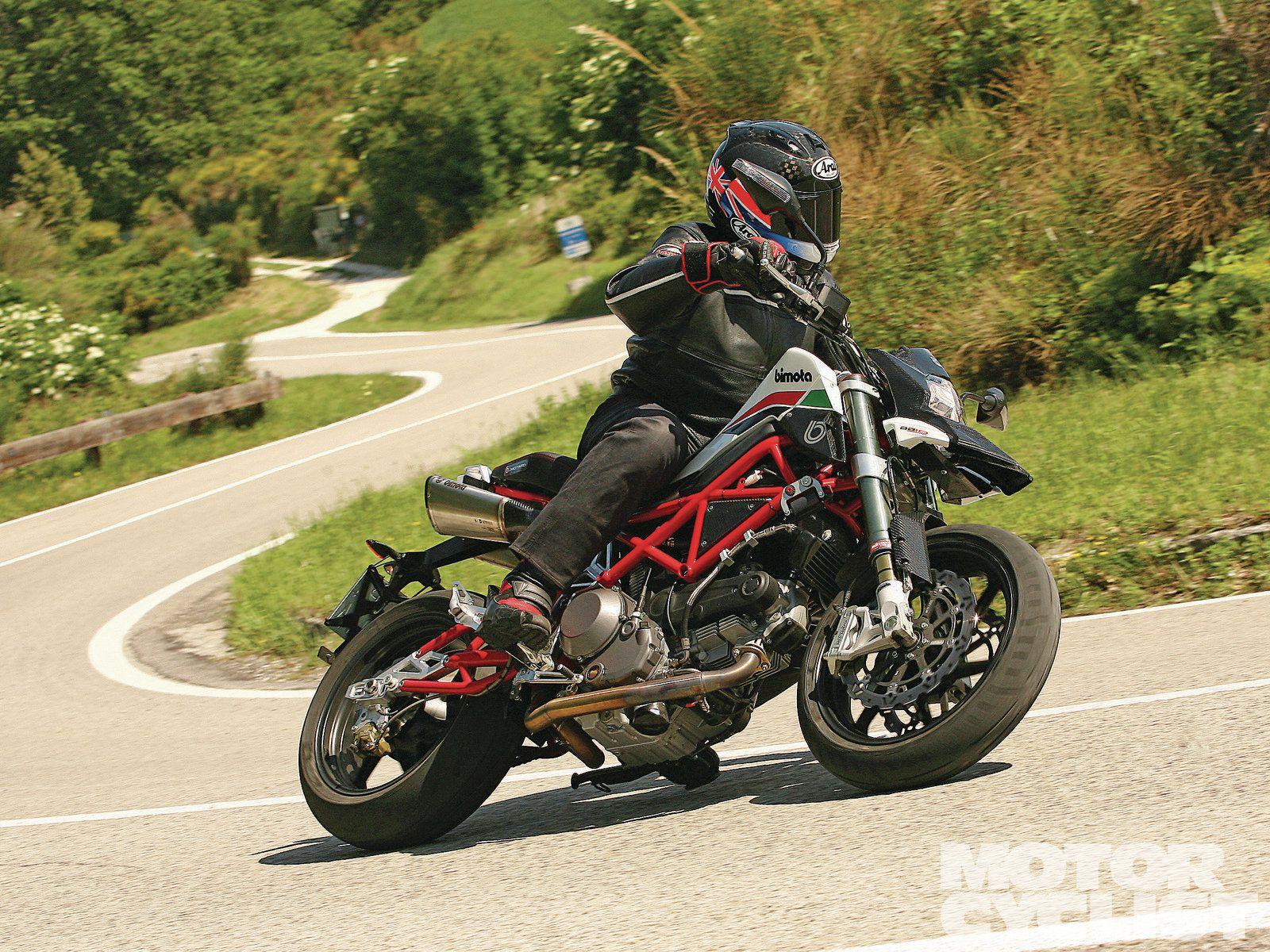 Bimota Db10 Motard Motorcyclist
