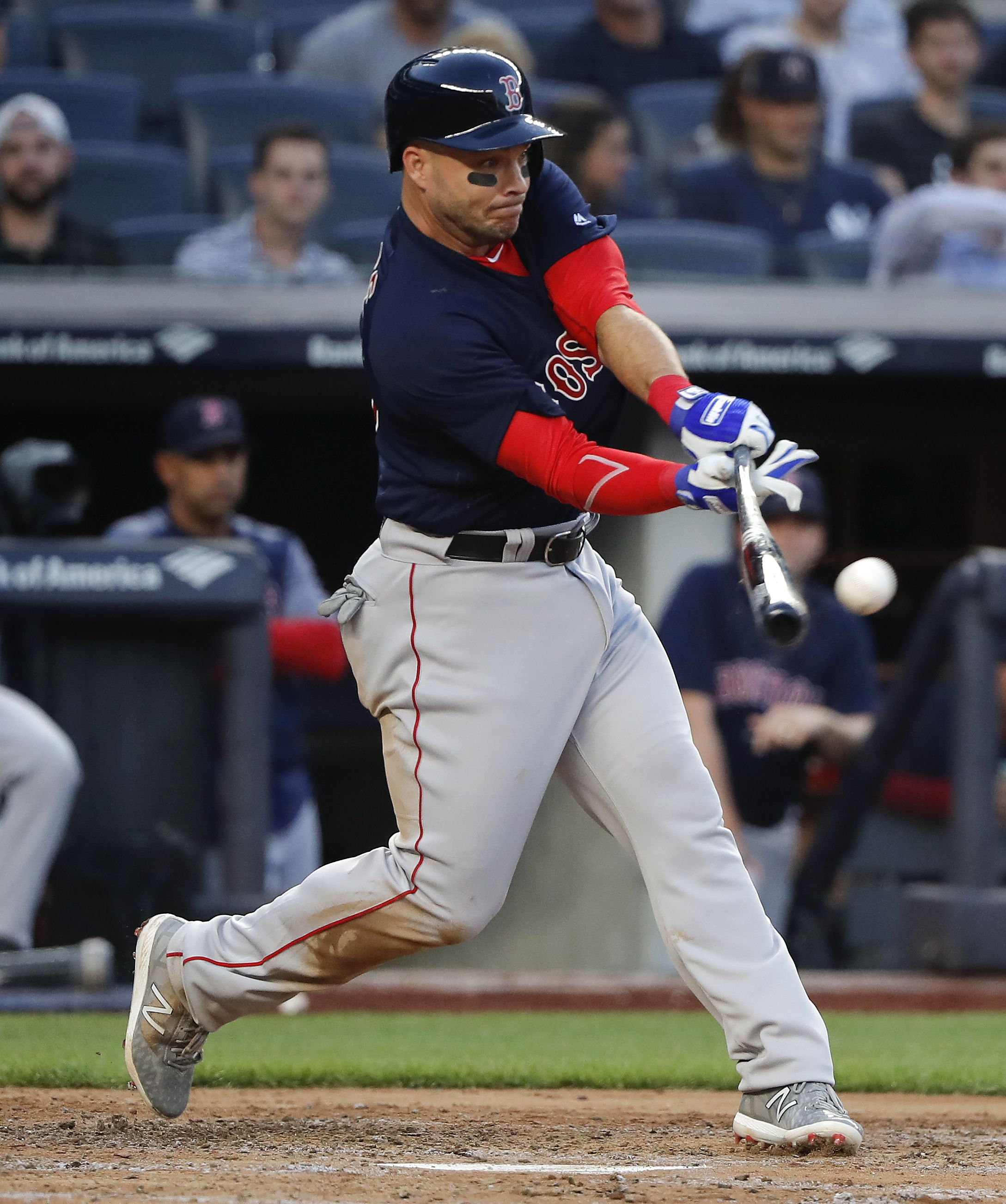 check out 47fad cc5af Newest Red Sox Steve Pearce has one goal left — playing in ...