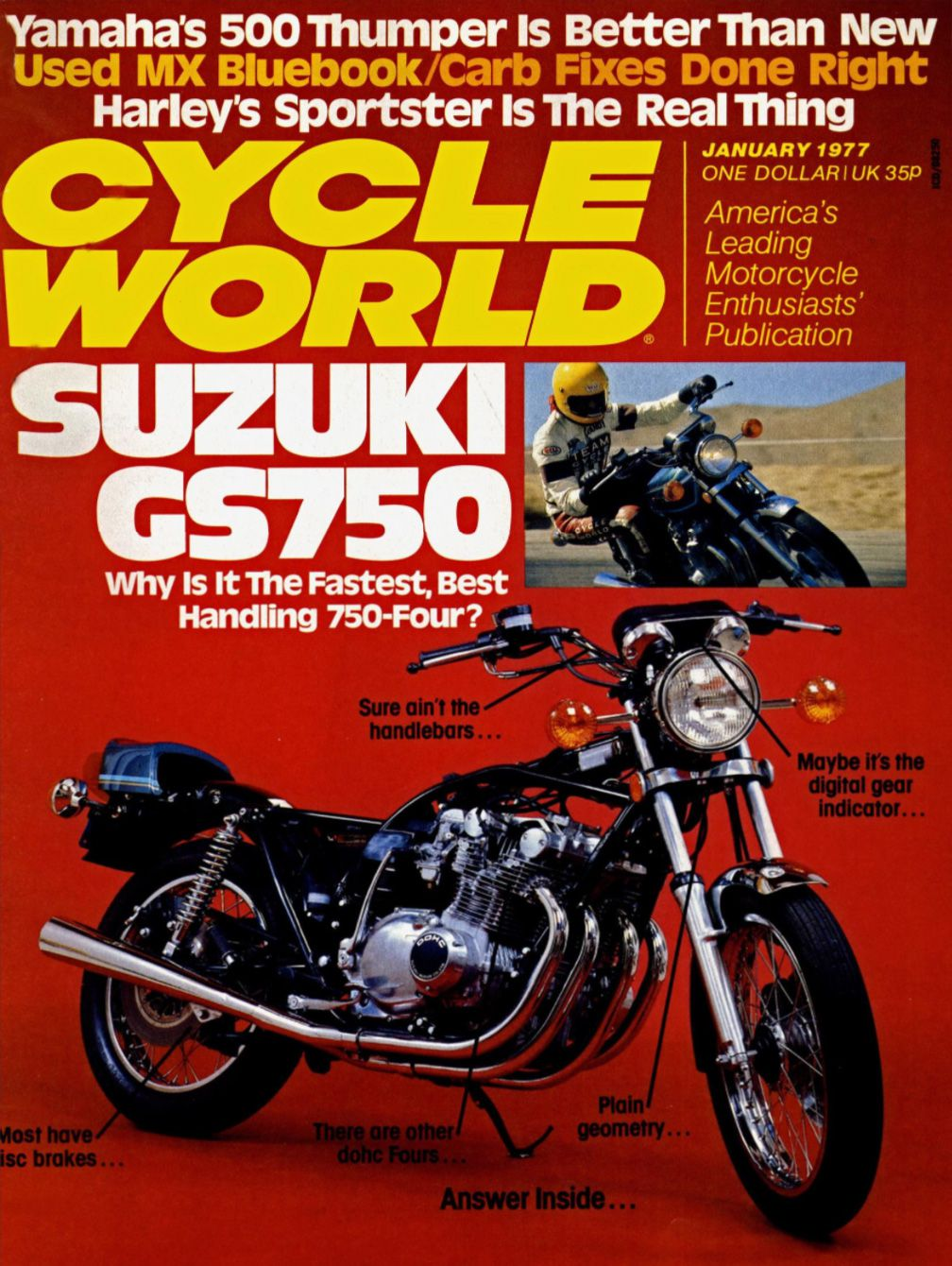 Suzuki GS750 and GS1000 Motorcycle History, CLASSICS REMEMBERED