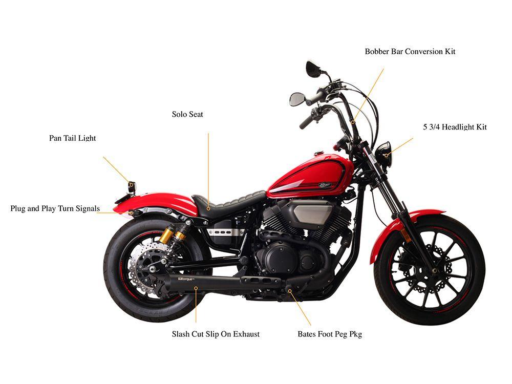 Torque Mfg  Bobber Kit for Yamaha Bolt | Motorcycle Cruiser