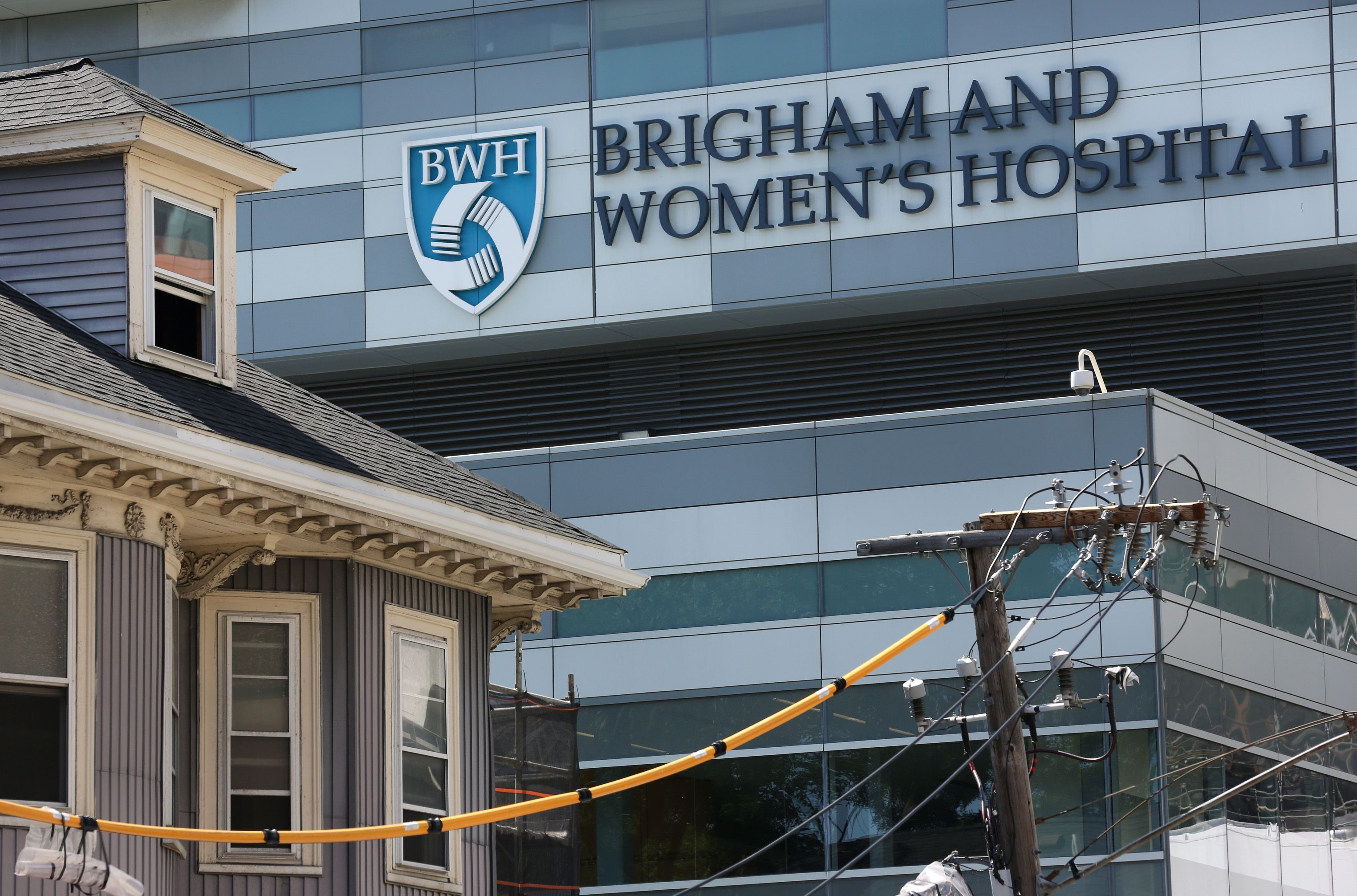 The intruder in the Brigham OR — how did she get there