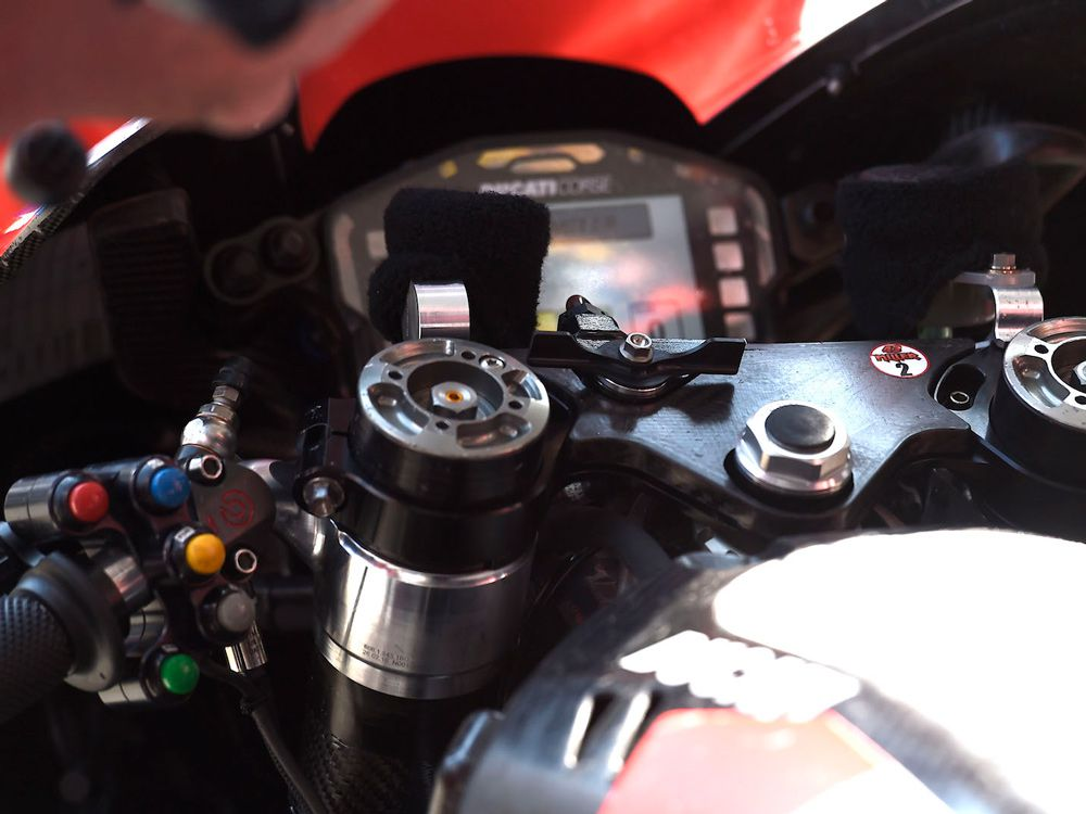 What Is The Big Wing Nut On Ducati's MotoGP Bike?   Cycle World