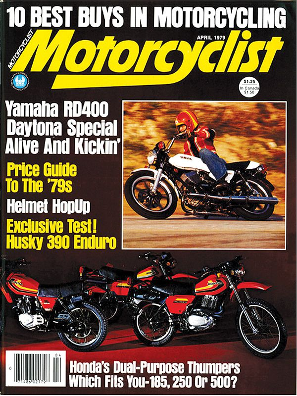 TWO-STROKE MOTORCYCLES: Yamaha's RD400 Daytona Special From 1979