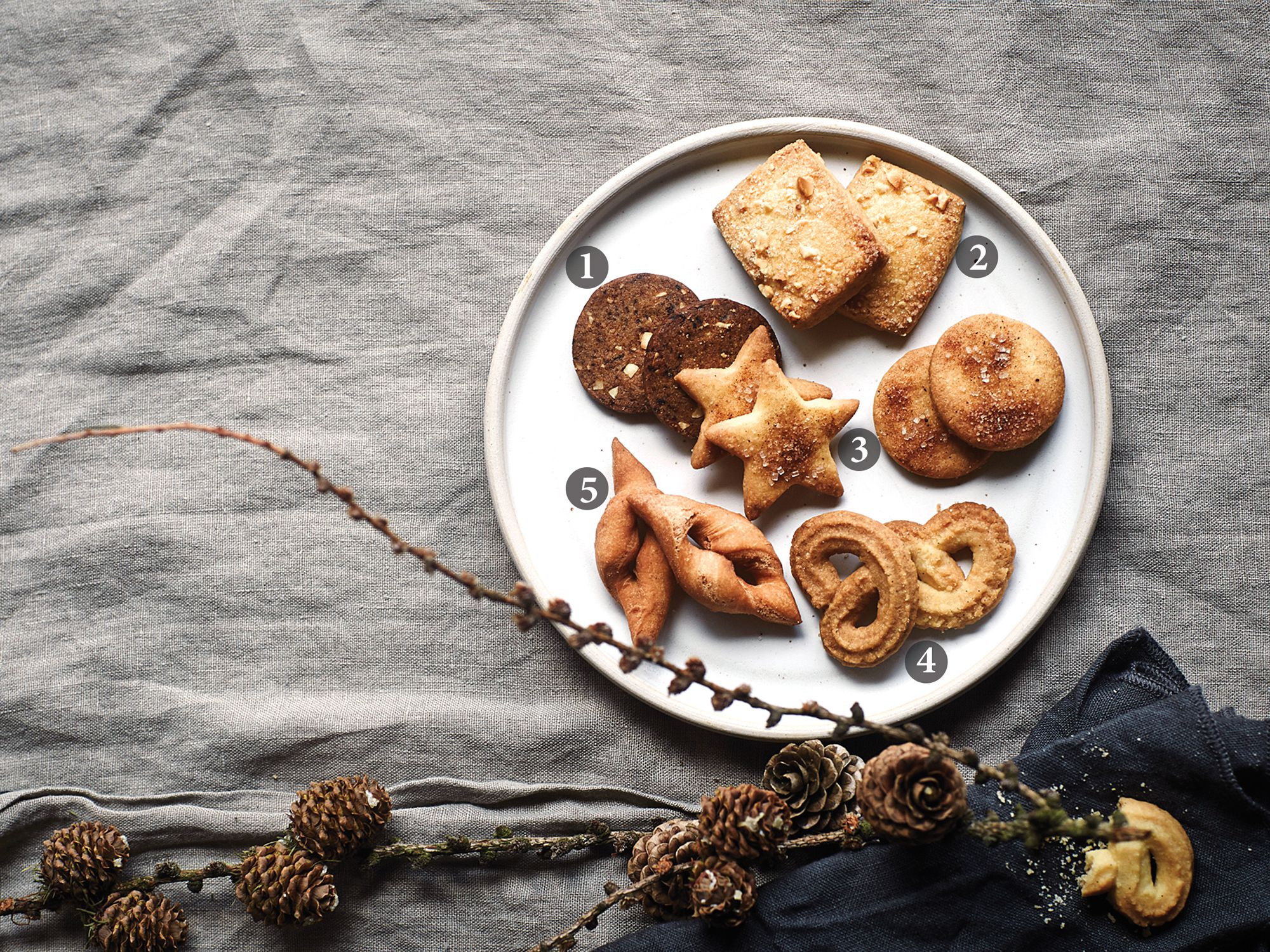 5 Buttery Spicy Danish Christmas Cookies Saveur