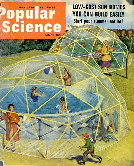 Archive Gallery: The Geodesic Life | Popular Science