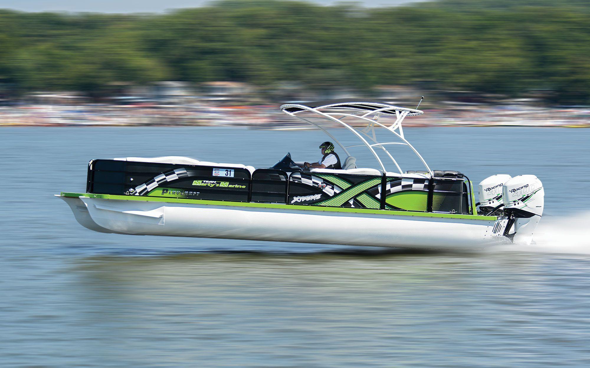 Fast Pontoon Boats Boating Magazine