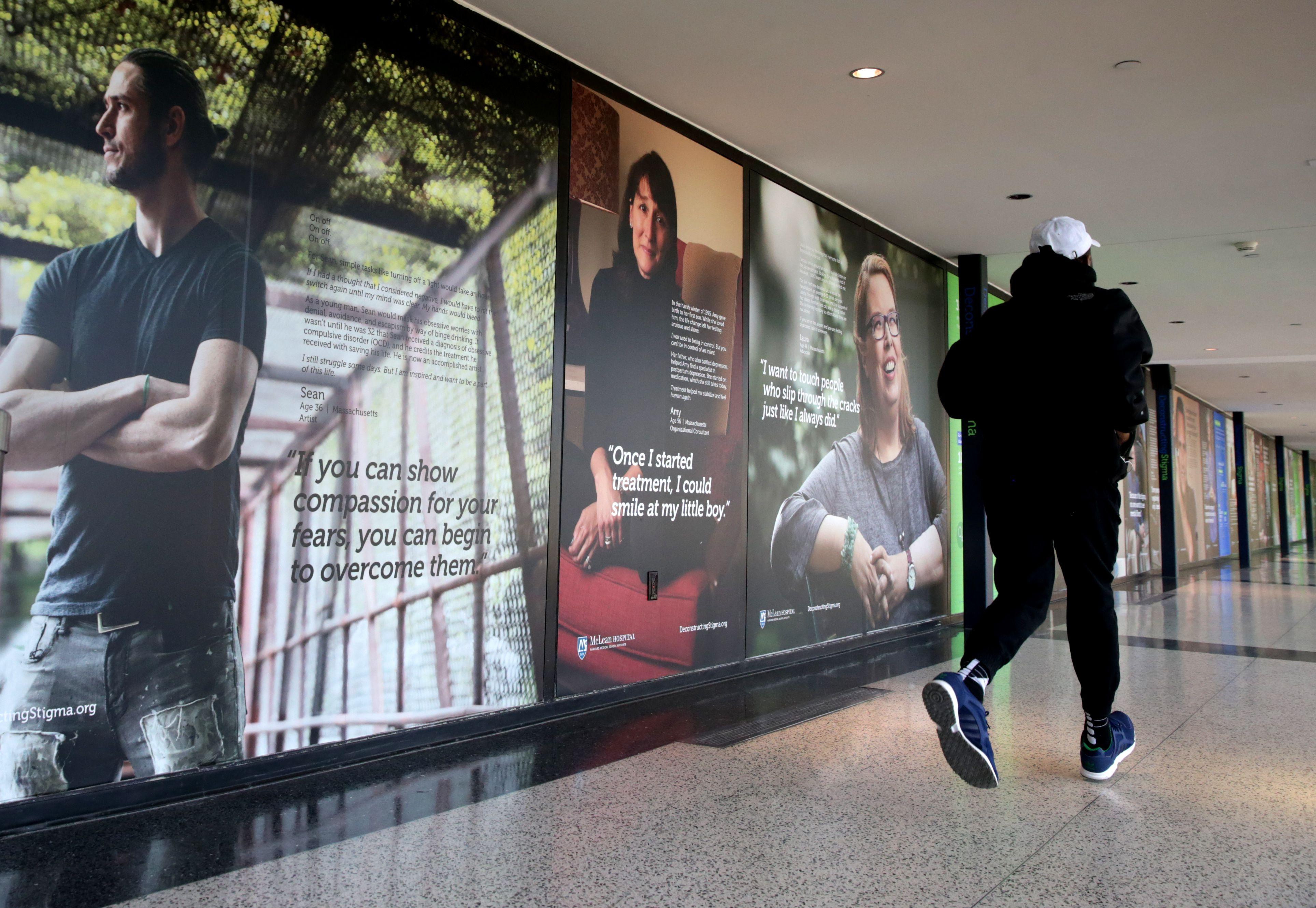 Flying away from stigma: Logan exhibit displays stories of