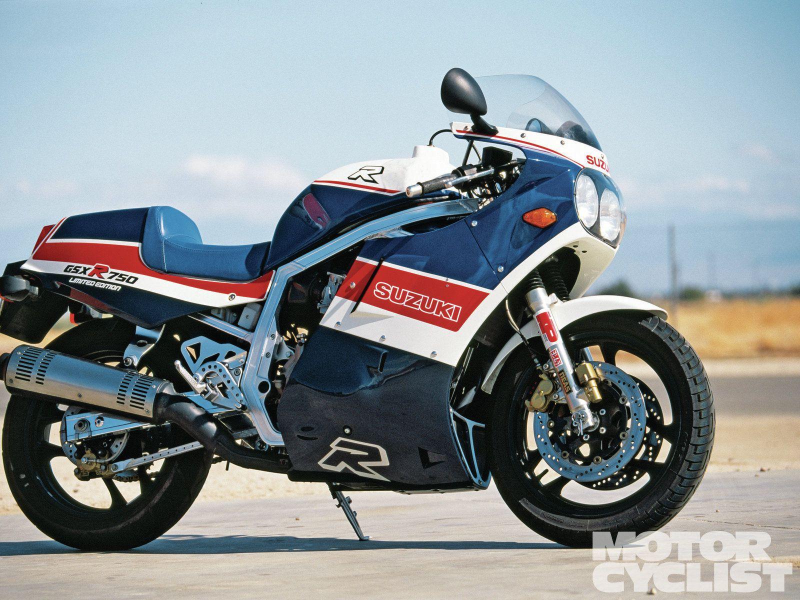 1986 Suzuki GSX-R750 Limited | Motorcyclist