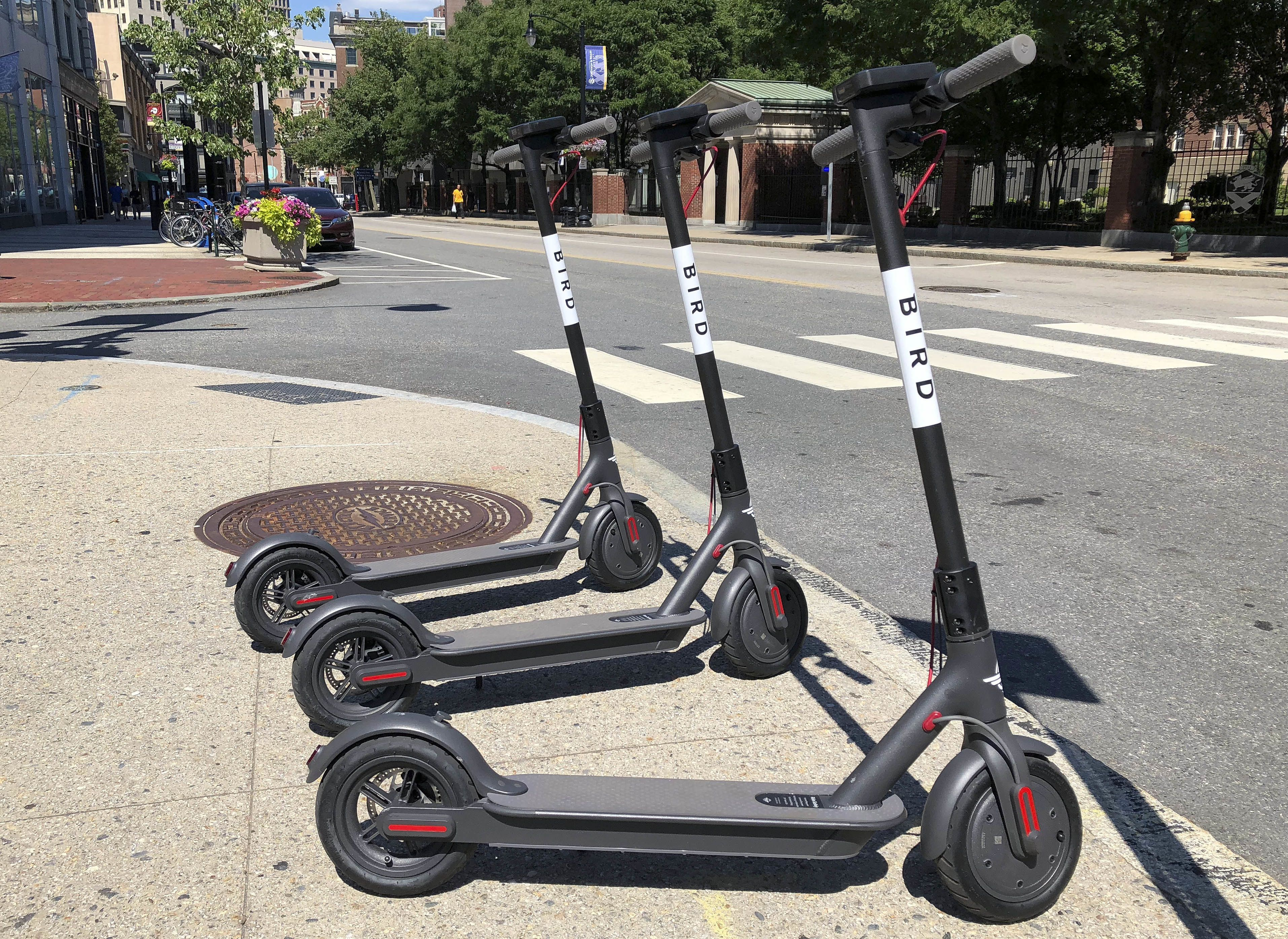 With Bird scooters about to be pulled off Cambridge streets