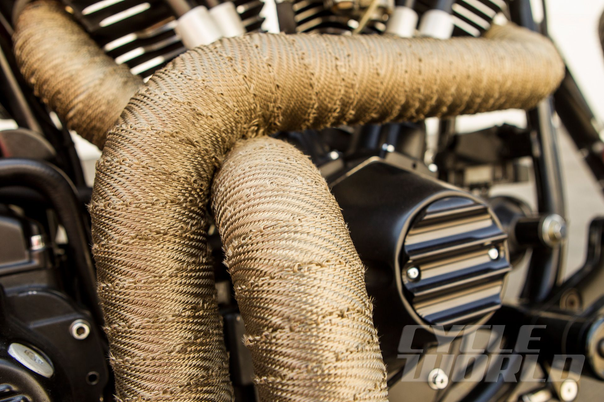 Should I Use Motorcycle Exhaust Wrap Cycle World