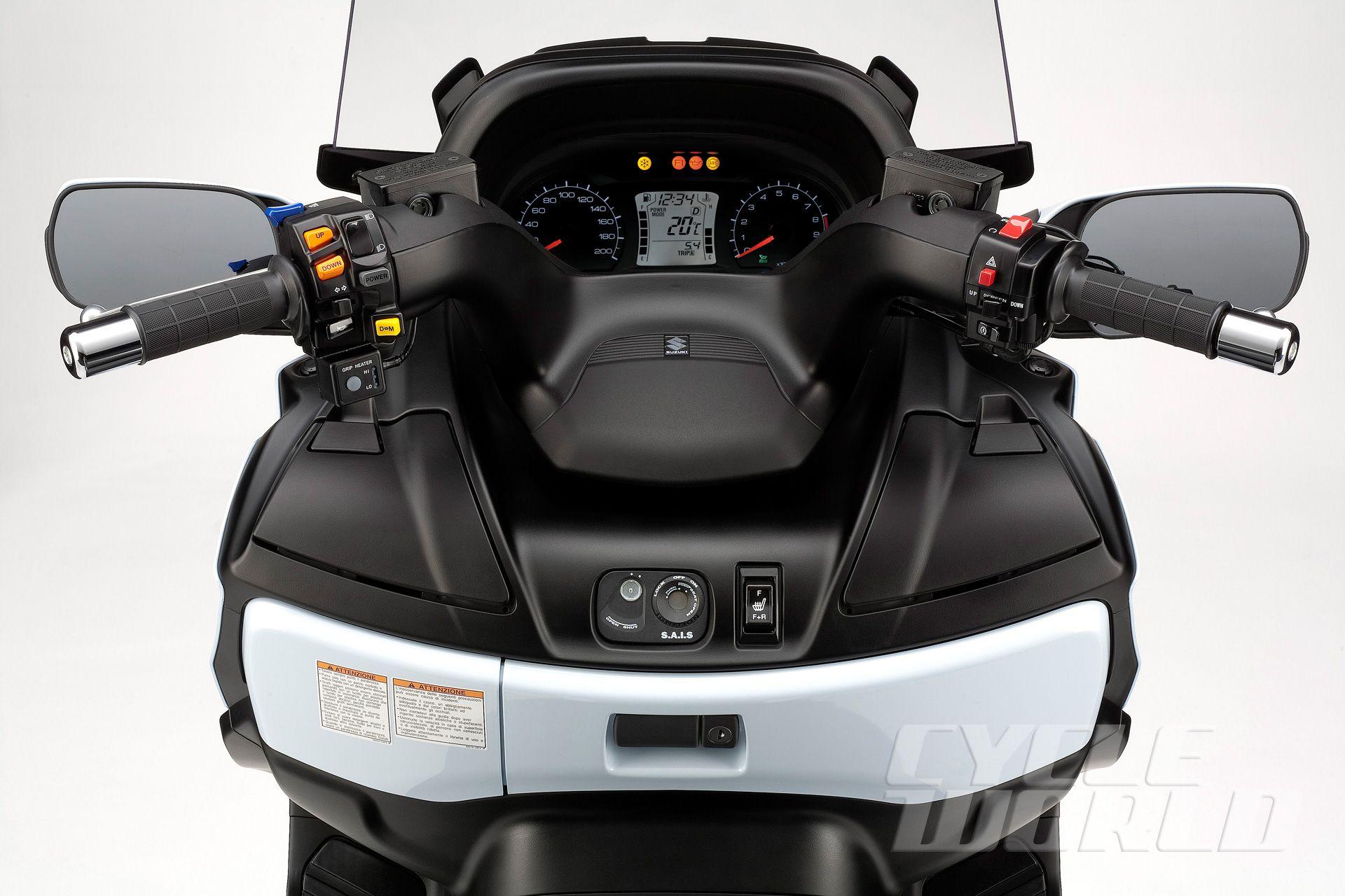 2012 Suzuki Burgman 650 Executive For Sale