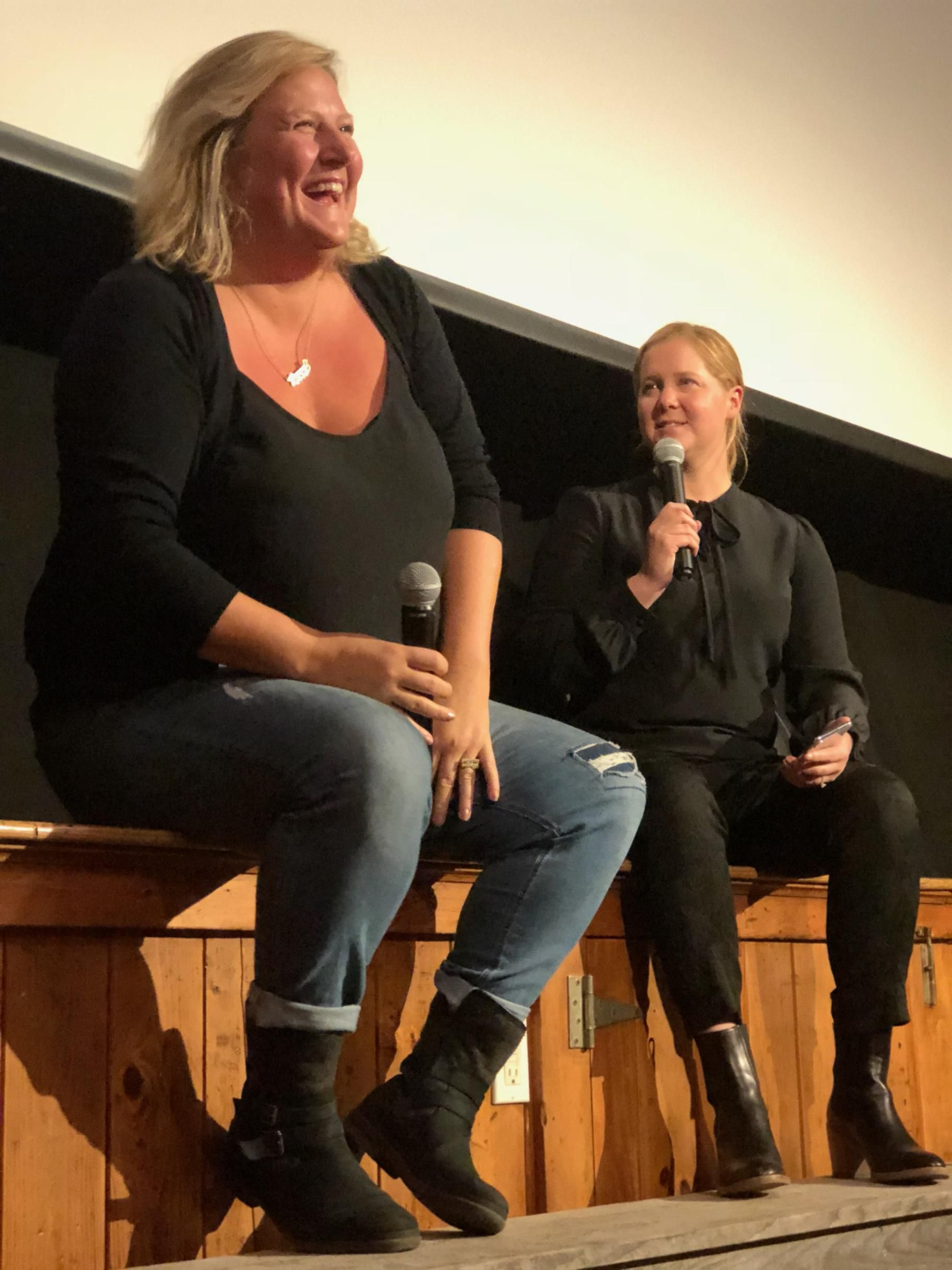 Amy Schumer Makes An Appearance At The Martha S Vineyard Film Festival The Boston Globe