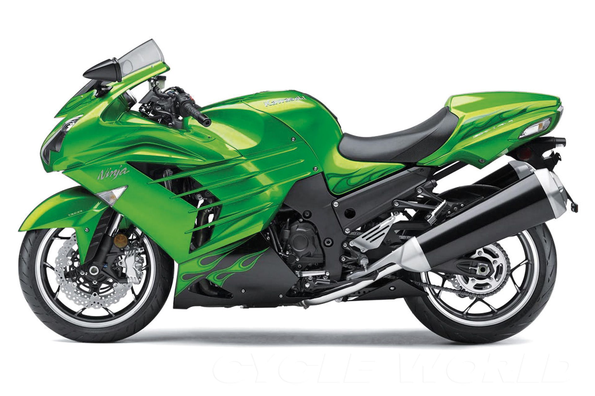 Kawasaki ZX-14R Road Test Review- Photos- Specifications