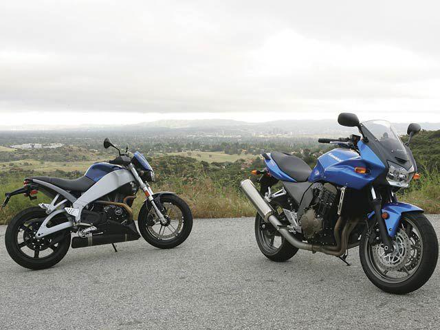 Buell Lightning CityX and Kawasaki Z750S   Road Test