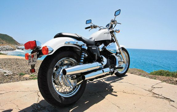 2010 Honda Shadow RS Review- Honda Shadow RS First Ride Test