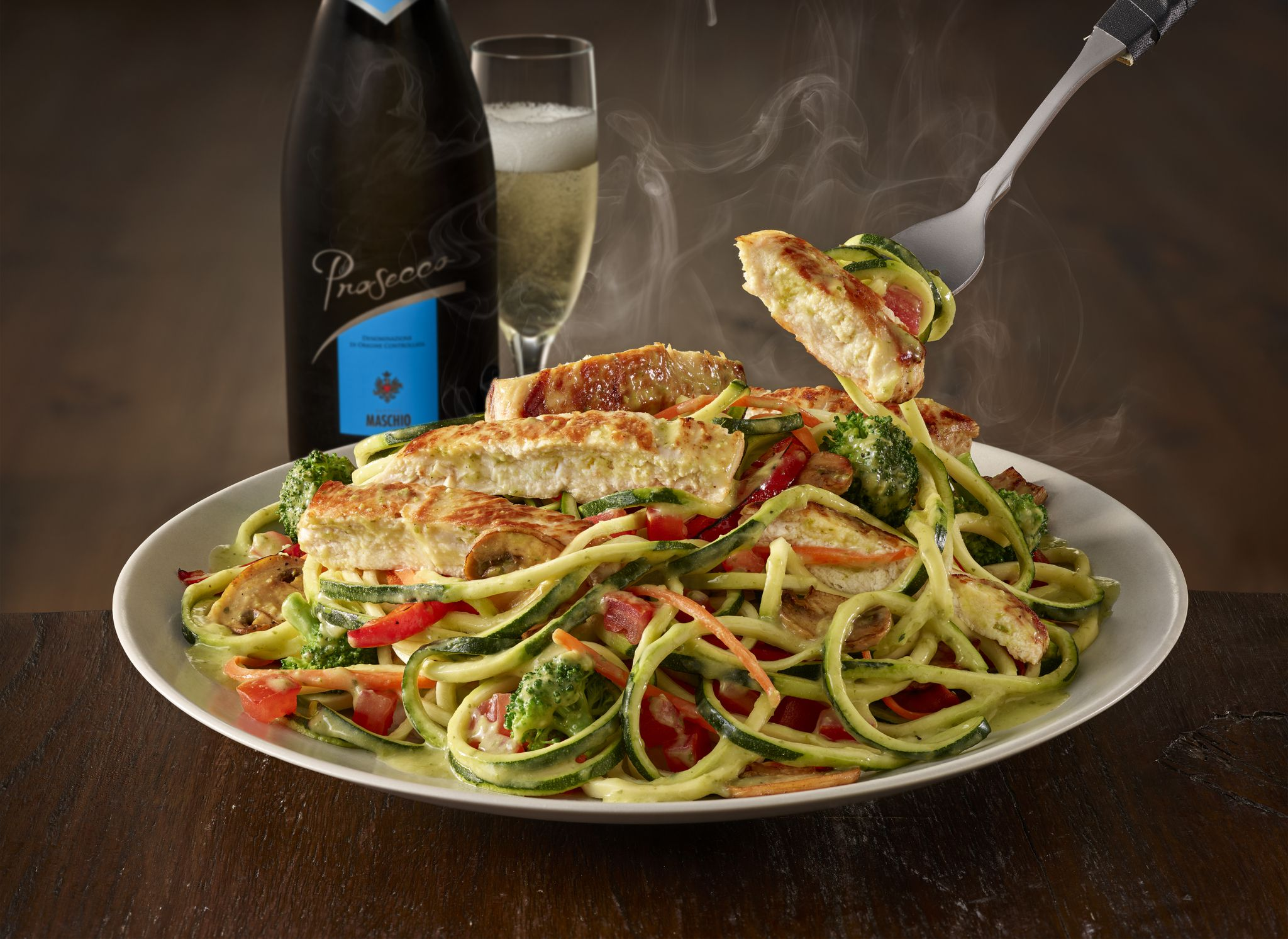 Oodles Of Zoodles Lighter Take Dish Now Available At Olive