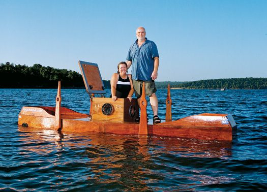 A Husband and Wife Build a 19th-Century Wooden Submarine | Popular