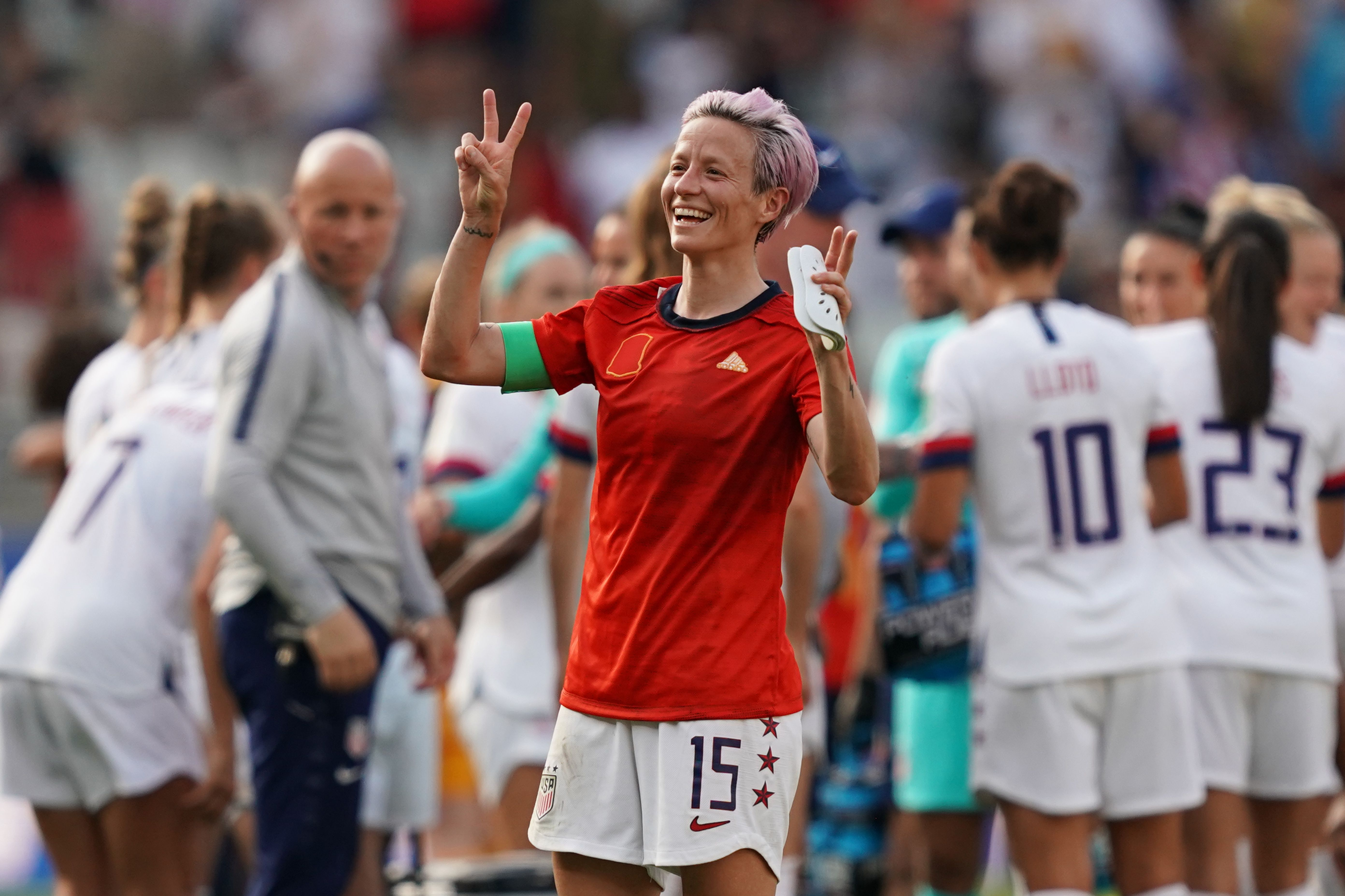 Trump responds to Megan Rapinoe saying she wouldn't go to