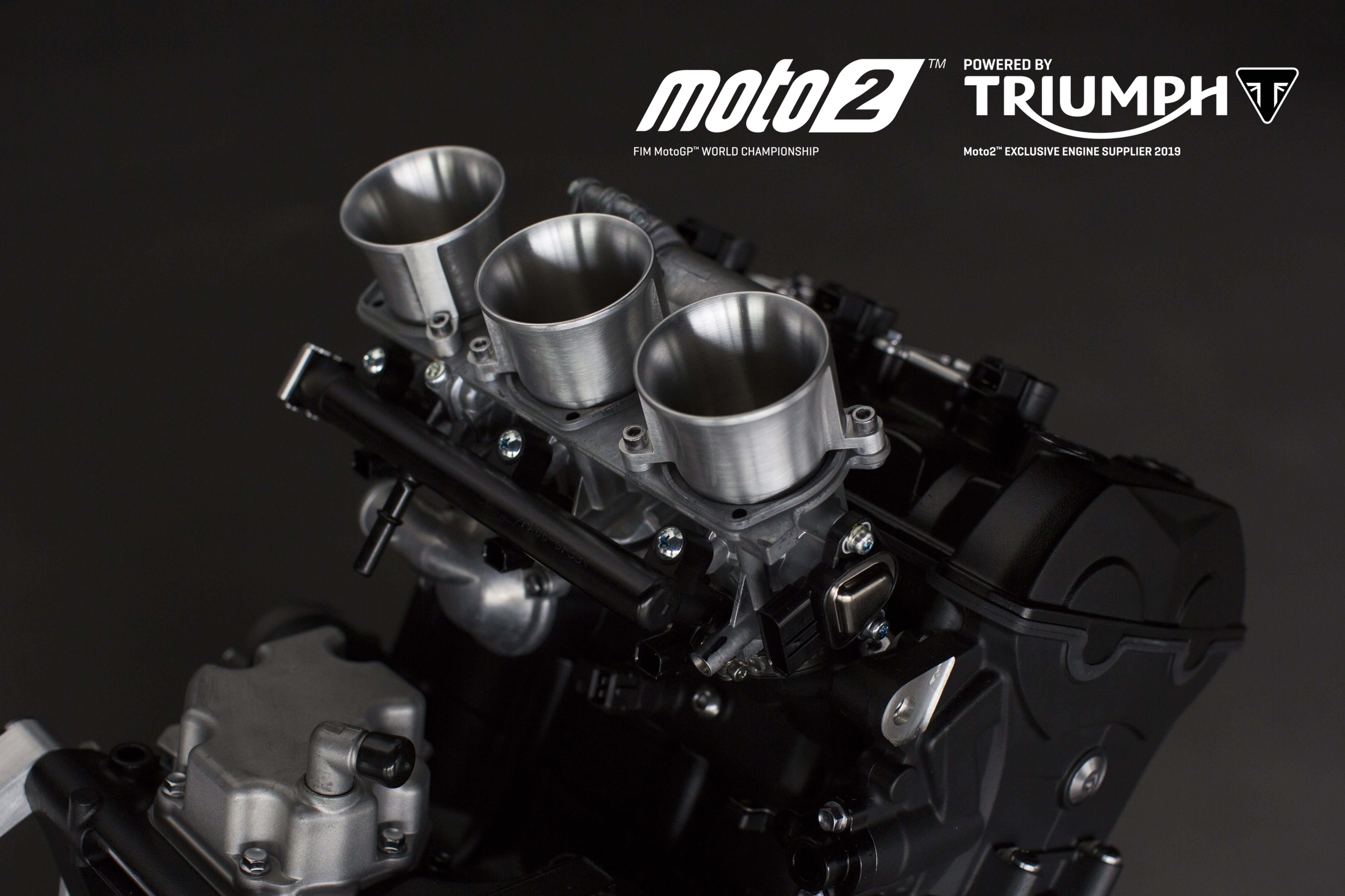 Triumph to Provide 765cc Triple Engines For Moto2 From 2019
