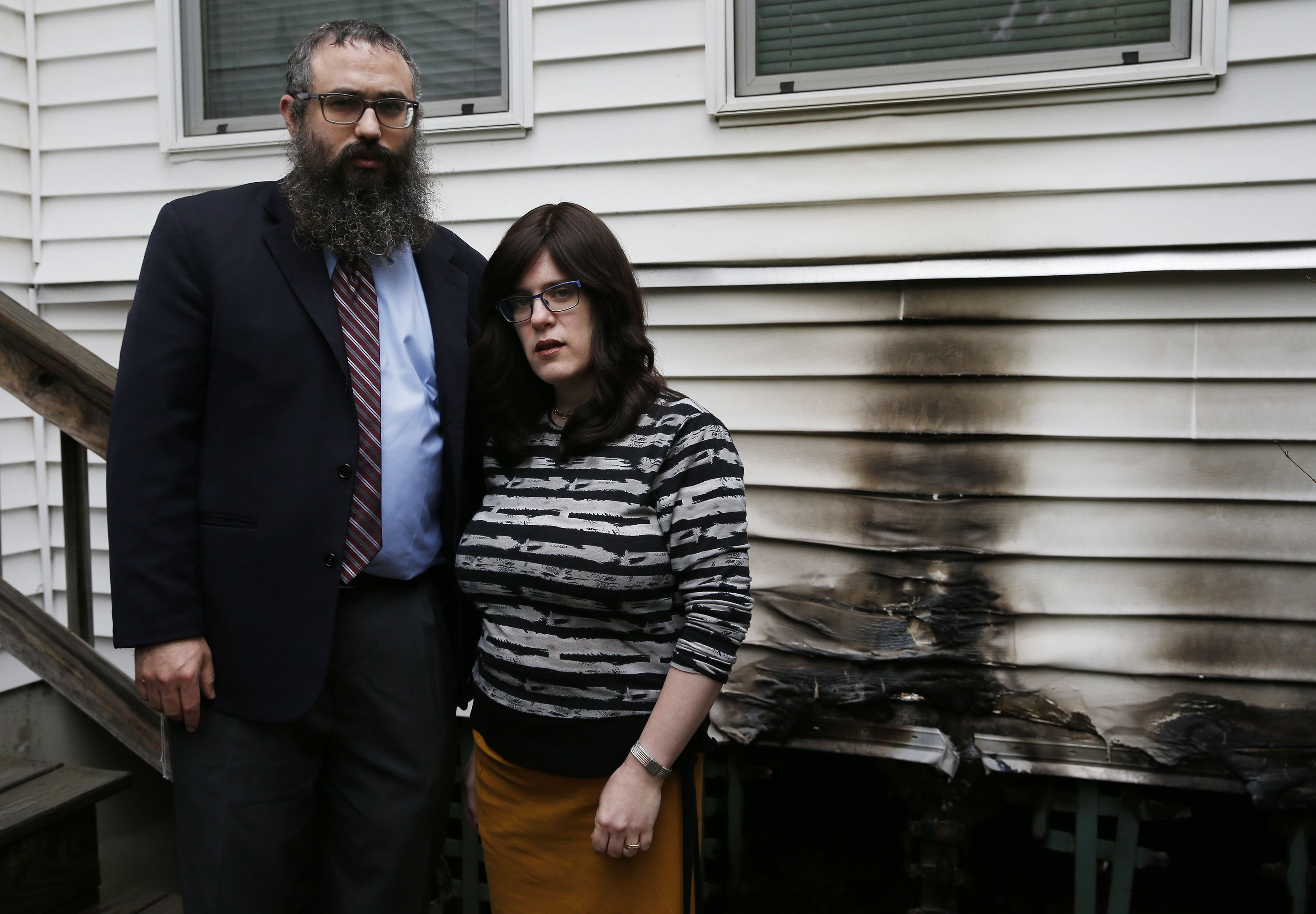 I can't be naive anymore': Targeted by arson fires, Mass
