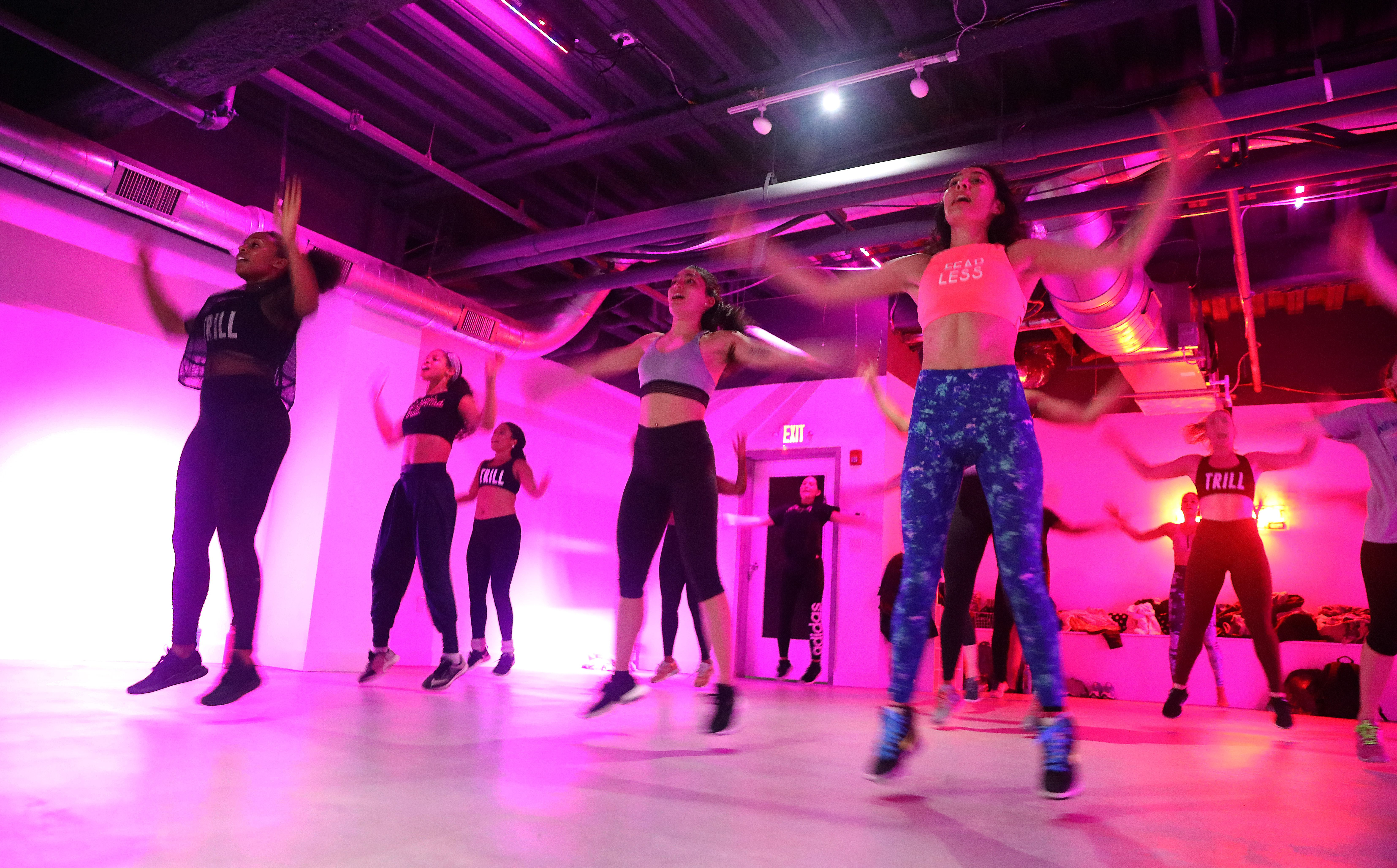 At Trillfit, workouts with hip-hop beats and no inhibitions - The